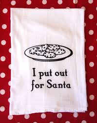 christmas towels christmas flour sack towels i put out for santa towels