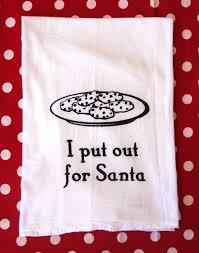 christmas towels christmas flour sack towels i put out for santa towels