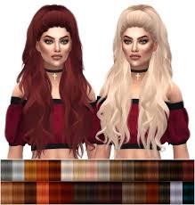 custom hair for sims 4 sims 4 updates kenzar sims hairstyles anto atenea natural hair