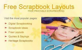 free scrapbooking layouts scrapbooking ideas