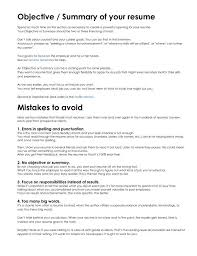 What To Write In The Summary Of A Resume What Goes In The Summary Of A Resume Resume Ideas