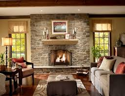 rustic stone fireplaces interior rustic stone fireplaces with upholstery sofa square table