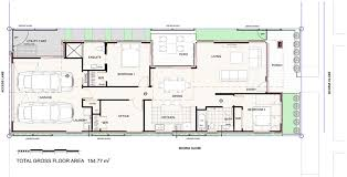 Narrow Townhouse Floor Plans Long Narrow Houses The Contrasting Materials Add Dramatic