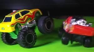 monster truck crash videos youtube toy monster trucks crash in slow motion kids fun youtube