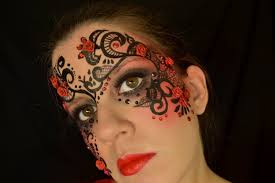 whispy owl inspired make up mask great tutorial for halloween