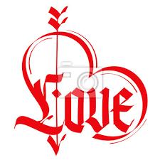 imagenes goticas letras amor de la tipografía tipografía del corazón letras góticas
