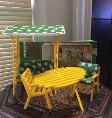 Hue Work Outdoor Patio Neutral Well With Can Furniture Bench - Yellow patio furniture