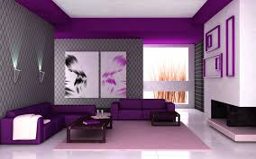 colours for home interiors inspiration for living room curtains purple modern curtain design