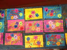 Fleurs Pour Fete Des Meres Carte Fête Des Mères 2016 Arts Visuels En Maternelle