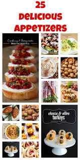 25 delicious appetizer recipes
