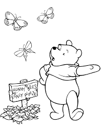 winnie pooh coloring autumn coloring pages ideas