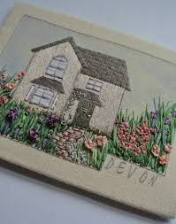 ribbon embroidery flower garden courses