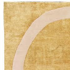 Yellow Circle Rug Contemporary Quantum Circles Rug N10962 By Doris Leslie Blau