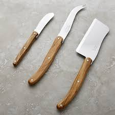 laguiole kitchen knives laguiole olivewood 3 cheese set in cheese boards knives