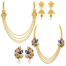 necklace set images images Buy sukkhi jewellery sets for women golden 410cb1950 online at jpg