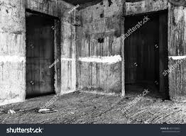 halloween background creepy abandoned building creepy place darkness horror stock photo