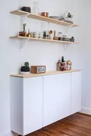 Fabriquer Ses Meubles De Cuisine Soi M Home Home Avec Des Caissons Ikea Ivar Caisson Enfilade Et