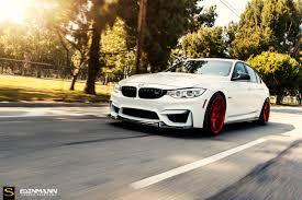 Bmw M3 White 2016 - bmw f80 m3 black di forza bm10 savini wheels dinmann