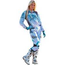 motocross gear package deals fly racing 2015 womens kinetic jersey race pant package teal white