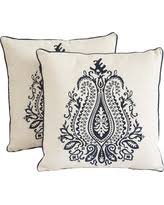 embroidered throw pillows at low prices