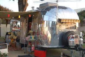 Vintage Trailer Awning Vintage Airstream Trailer Pictures From Oldtrailer Com