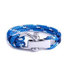 blue bracelet images Regatta blue shackle bracelet sail swag jpg