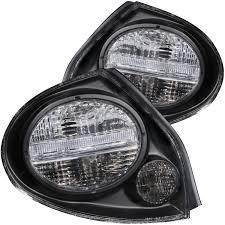 nissan maxima white and black anzo usa nissan maxima 00 03 tail lights black