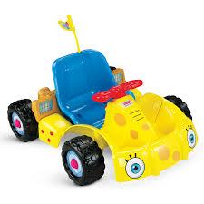 power wheels 6v battery toy ride on nickelodeon spongebob