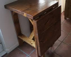 drop leaf bar table rustic space saving drop leaf breakfast bar kitchen table 014
