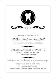 graduation announcement wording dental school graduation announcement wording graduation