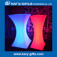 Led Bistro Table Led Bistro Table With Rent Led Lit Bistro Tables In Malta