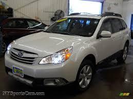 subaru xv white 2011 subaru outback 3 6r limited wagon in satin white pearl