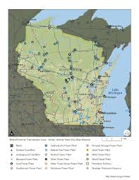 Wisconsin State Map by Wisconsin Profile