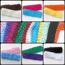 elastic headbands plain wide elastic stretch headbands set of 2 deals by the