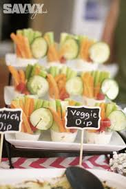 easy bridal shower wedding week april showers veggie cups wedding week and april