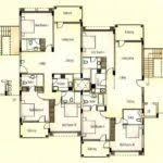 Apartment Complex Floor Plans by Kitchen Apartment Building Floor Plan With Modern Excerpt Plans
