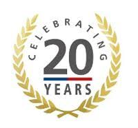 20 yr anniversary celebrating 20 years of business crowthorne