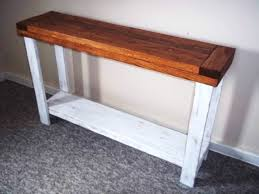 Foyer Table With Storage Rustic Side Table Sofa Table Side Table Foyer Table