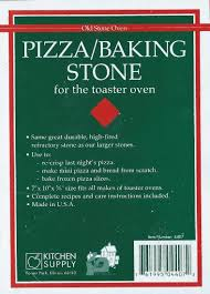 Pizza Stone For Toaster Oven Make Your Own Pizza