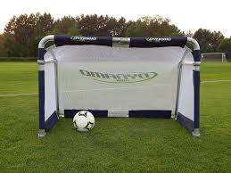 amazon com dynamo backyard folding portable soccer goal sports
