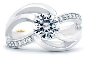 modern engagement rings mark schneider kismet contemporary engagement ring 19620