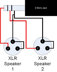 3 5 mm jack to xlr wiring diagram wiring diagram and schematic