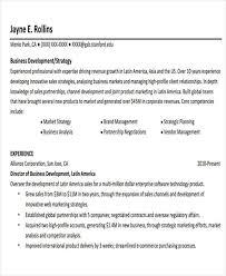 Professional Development Resume Business Resume Sample Free U0026 Premium Templates
