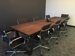 Grey Meeting Table Conference Table For 6 Meeting Room Chairs Small Meeting