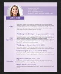 Modern Resume Templates Free Curriculum Vitae Template Word Download Cv Template When