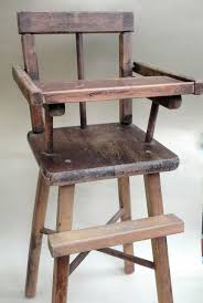 Antique Wooden High Chair Mandicrafts News U0026 Views Teddy Bears U0026 Collectibles July 2013