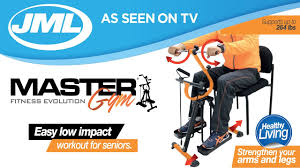 Exercise Chair As Seen On Tv Jml Master Gym Youtube