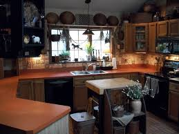 primitive kitchen ideas more black painted refrigerator and formica primitive