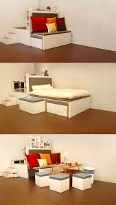Space Saving Furniture For Small Bedrooms by The Concept Is For A System Of Space Saving Furniture That Nests