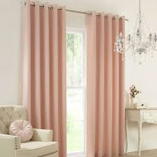 Window Treatments Living Room Blush Claire Thermal Eyelet Curtains Dunelm Decor Ideas